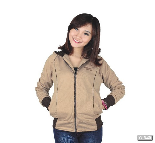 Jaket / Sweater / Hoodies Casual Wanita - YI 048